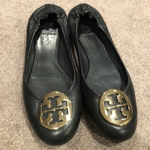 Tory Burch 7.5 balk leather